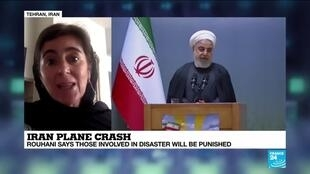 2020-01-14 10:01 Rouhani: Those responsible for Iran plane crash will be punished