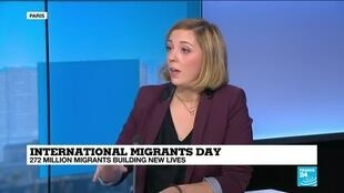 "2019-12-18 14:47 'Around 660,000 migrants are in Libya"", FRANCE 24's Anne Diandra Louarn says during UN's International Migrants Day"