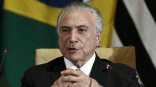 Neuf membres du gouvernement du président Michel Termer sont visés par des enquêtes de la Cour Suprême.