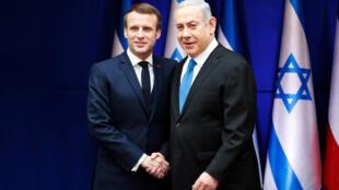 Macron-Netanyahu