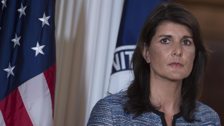 Nikki Haley a annoncé mardi 19 juin le retrait américain du Conseil des droits de l'Homme de l'ONU.