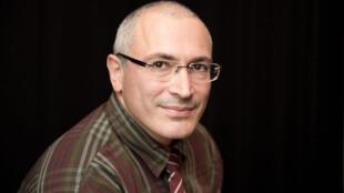 Mikhaïl Khodorkovski à Berlin, le 12 juin 2014.