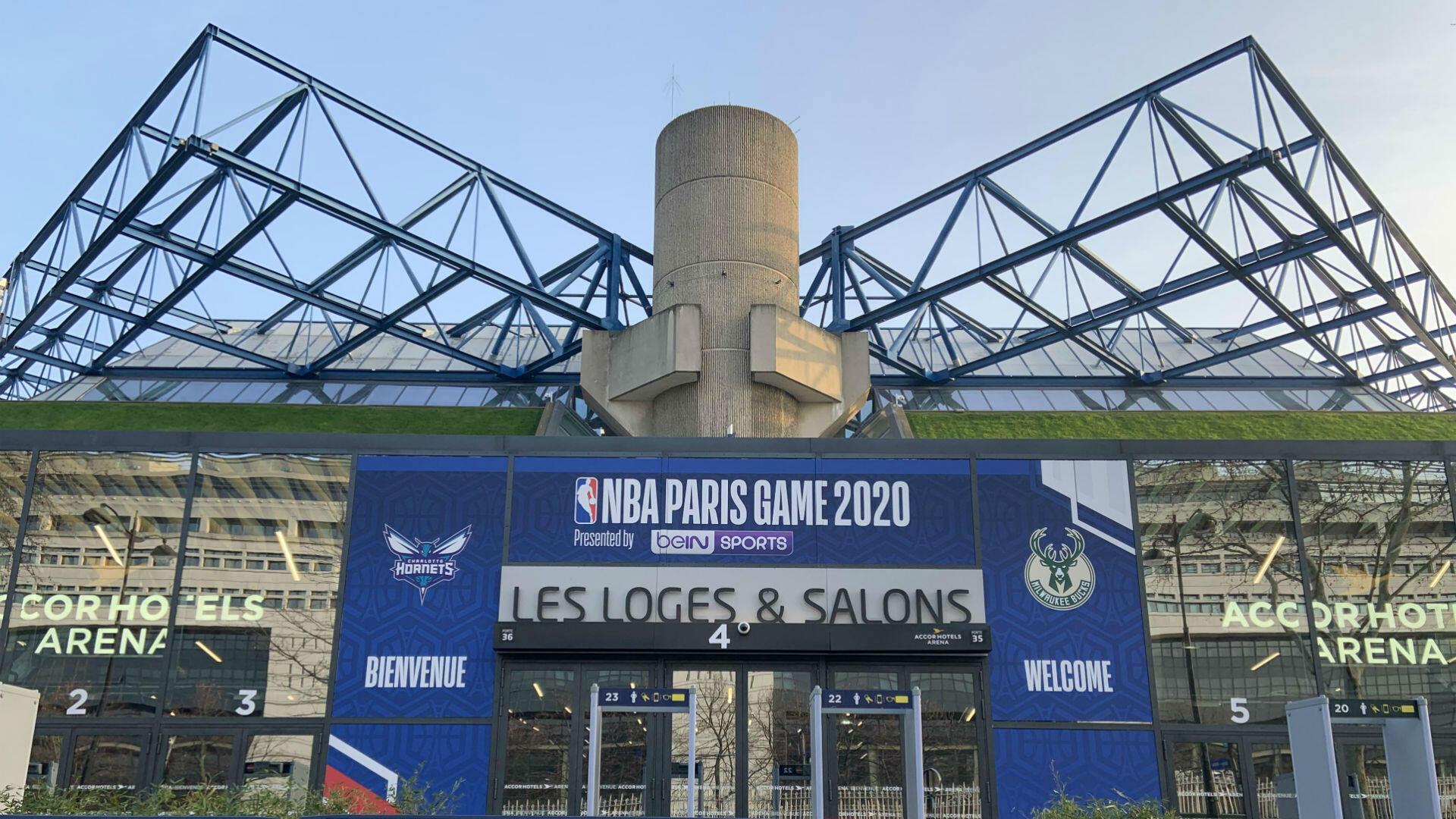 Paris-Bercy, the scene of the grand première.