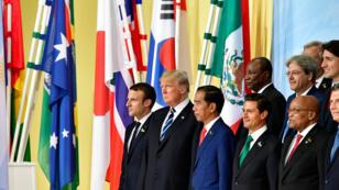 رؤساء دول وحكومات أقوى دول العالم في قمة مجموعة العشرين