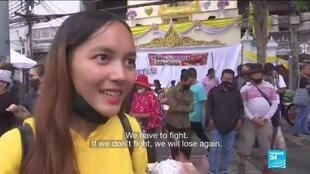 2020-10-14 12:10 Thailand protests: Anti-government demonstrators call for PM resignation