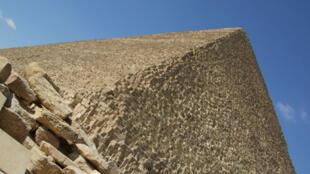 La pyramide de Khéops, sur le site égyptien de Gizeh