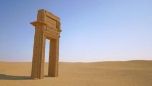 L'arche du temple de Bel à Palmyre va être reproduite à Trafalgar Square (Londres) et Time Square (New York)