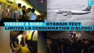 La compagnie Ryanair veut limiter la consommation d'alcool dans les aéroports britanniques.