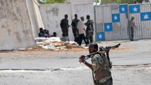 La Villa Somalia, qui abrite entre autres le palais présidentiel, photographiée en septembre 2009.