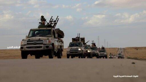 صورة من فيديو نشر على صفحة المشير خليفة حفتر رجل الشرق الليبي القويعلى موقع فيس بوك في 03 أبريل/نيسان 2019