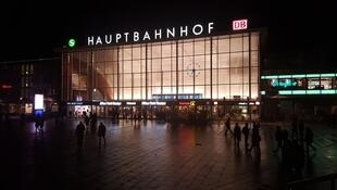 La gare de Cologne, où ont eu lieu une partie des agressions du Nouvel An.