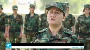 مقاتلات إيزيديات