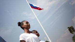 """L'aide russe en Centrafrique a permis en décembre dernier de ressuciter le concours de """"miss Centrafrique"""" qui avait disparu depuis 2015."""