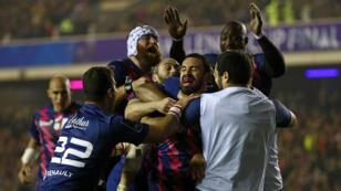 Le Stade français a remporté son premier titre européen vendredi 12 mai.