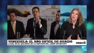 El debate Juan Guaidó