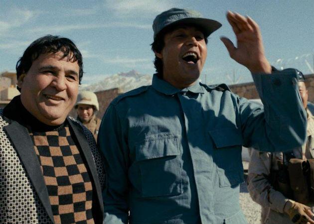 Salim Shaheen avec son acteur Qurban Ali.