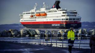 Norwegian cruise line Hurtigruten said none of the passengers on board reported symptoms related to coronavirus