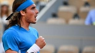 Tsitsipas reached the fourth round for the first time