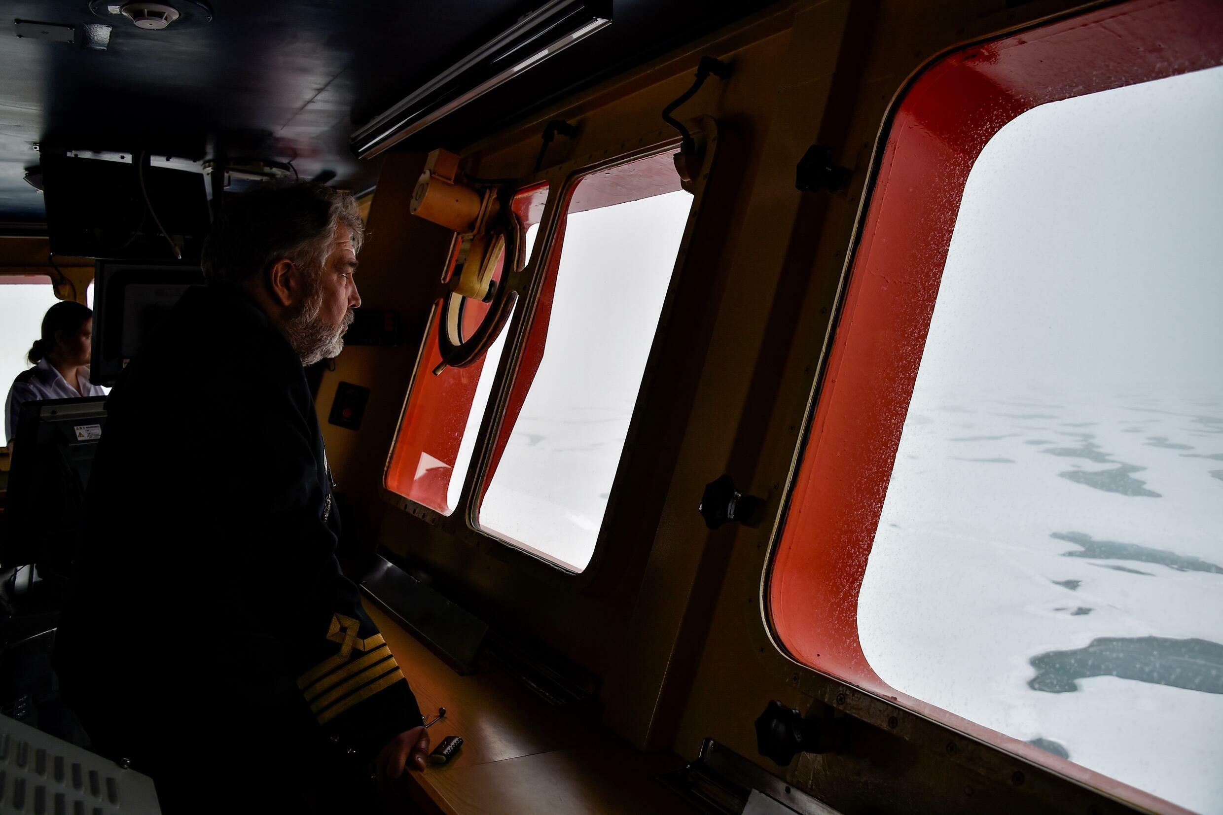 After nearly 30 years at sea, much of it in the Arctic, Dmitry Lobusov has seen first hand the changes wrought by global warming