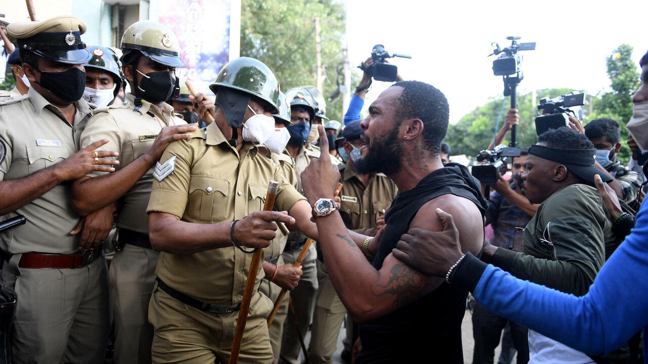Death of Congolese man in custody sparks protests in India's Bangalore