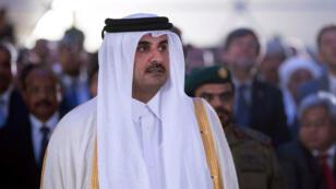 Le cheikh Tamim ben Hamad Al-Thani à Doha, le 5 septembre 2017.