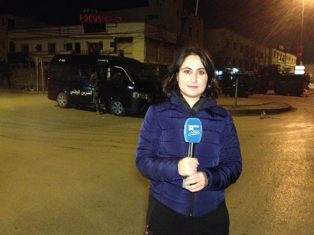 موفدة فرانس 24 إلى تونس مايسة عواد