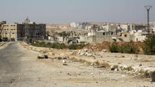 Une vue d'Alep, deuxième ville de Syrie devenue un enjeu majeur dans le conflit qui a fait plus de 300 000 morts depuis 2011.