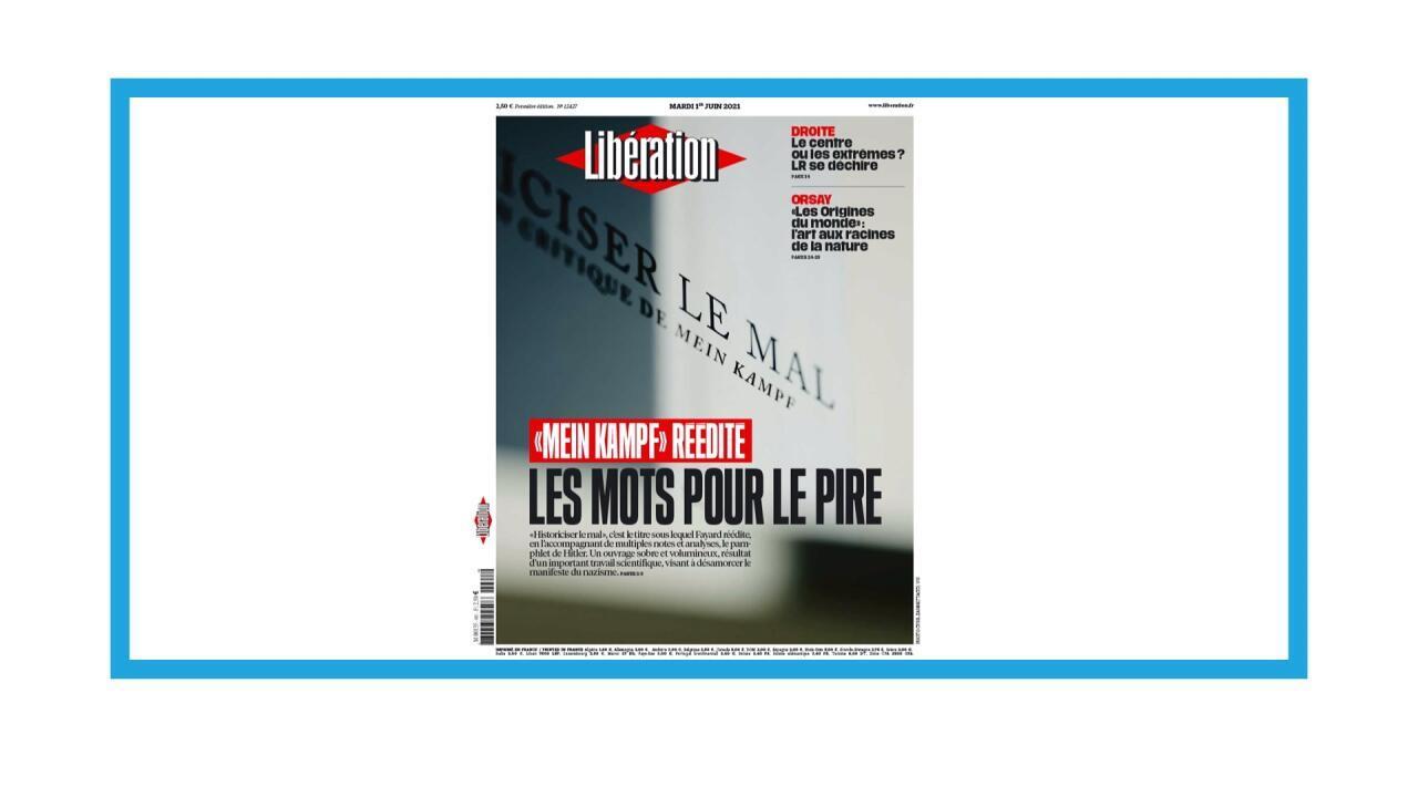 """Réédition, en France, du manifeste du nazisme """"Mein Kampf"""""""