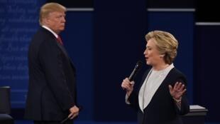 كلينتون وترامب المرشحان لسباق الرئاسة الأمريكي