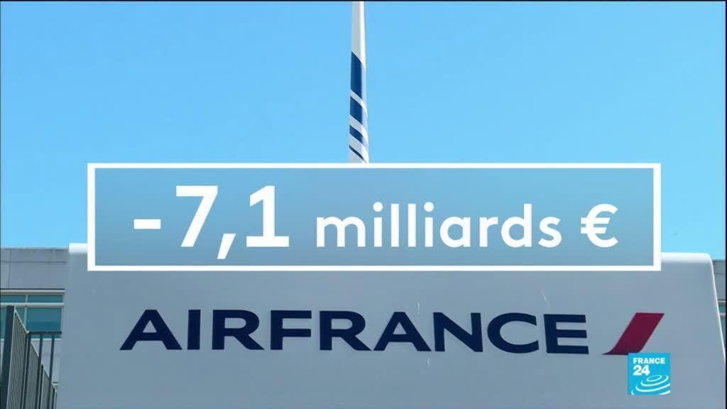 """2021-02-18 14:11 Air France-KLM : perte massive de 7,1 milliards d'euros en 2020, un choc """"sans précédent"""""""