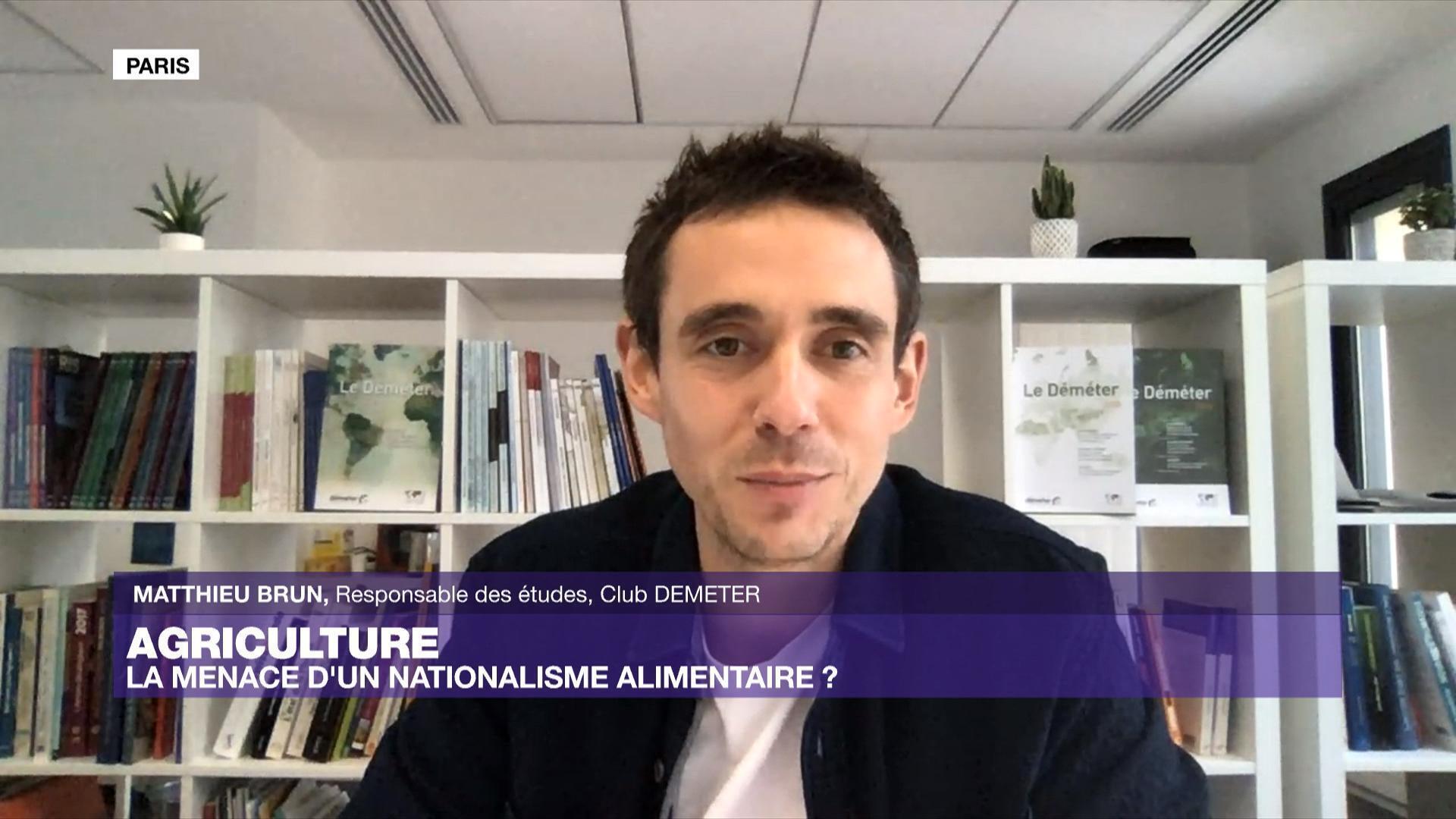 Entretien de l'Intelligence économique avec Matthieu Brun