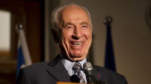 الرئيس الإسرائيلي السابق شيمون بيريز