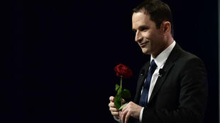 Benoît Hamon, le 5 avril 2017, à Nancy.