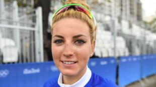La cycliste française Pauline Ferrand Prévot lors des JO de Rio, le 7 Août 2016