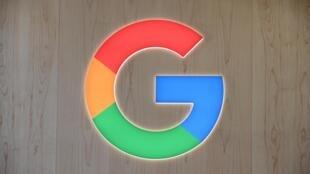 Le logo de Google lors d'un salon de l'électronique le 8 janvier 2020 à Las Vegas (Etats-Unis)