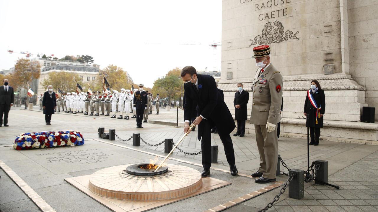 Macron 11 novembre