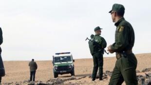 عناصر من قوات الدرك الجزائري