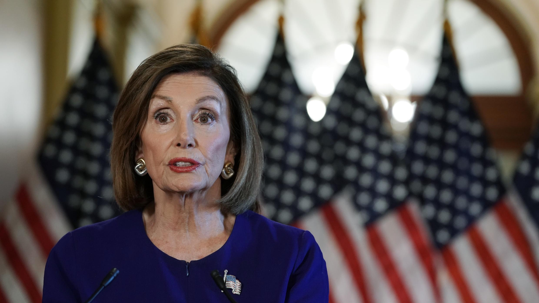 Nancy Pelosi, présidente de la Chambre des représentants américaine, le 24 septembre 2019, à Washington.
