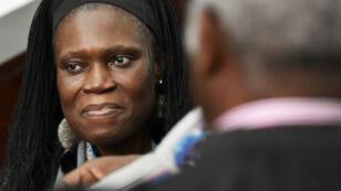 Simone Gbagbo comparaissait devant la cour d'assises d'Abidjan pour crimes contre l'humanité, mardi 28 mars 2017.
