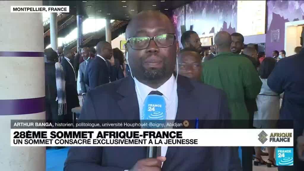 """2021-10-08 14:04 Sommet Afrique-France : """"le symbole d'une nouvelle ère"""""""