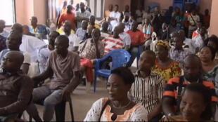 Les partisans de Blé Goudé réunis à Yopougon à Abidjan
