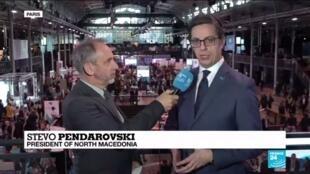 "2019-11-12 15:01 ""We would like to be in the EU"", says Stevo Pendarovski, President of North Macedonia"