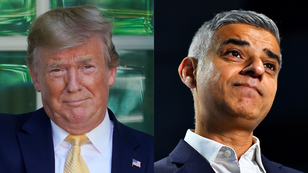 El presidente de Estados Unidos, Donald Trump criticó el trabajo del alcalde de Londres, Sadiq Khan.