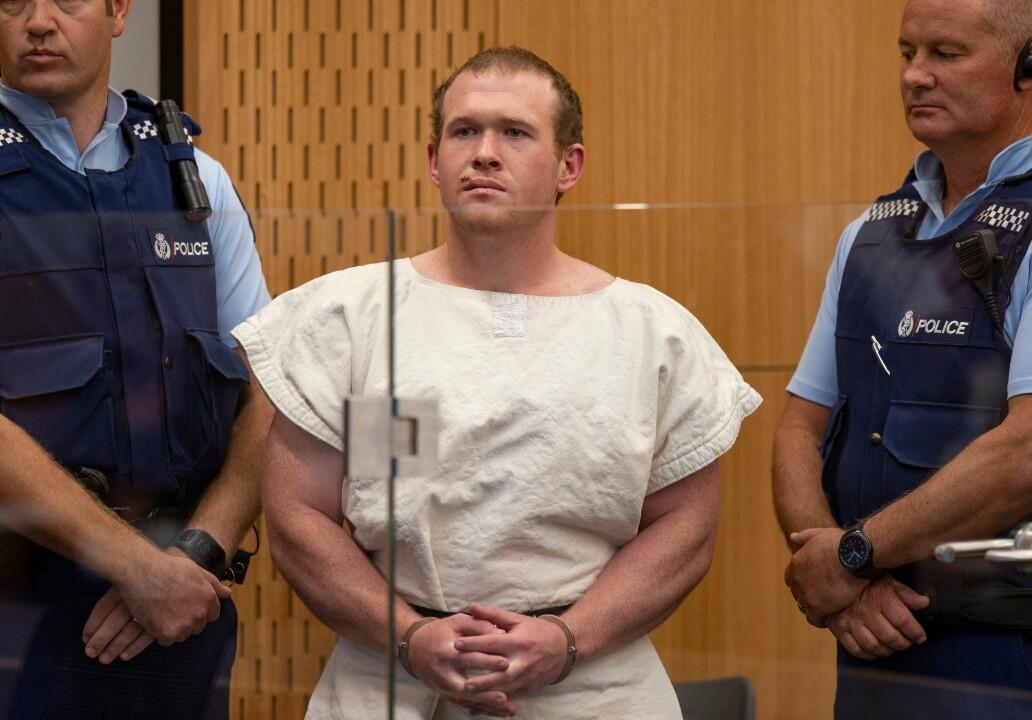 الأسترالي برينتون تارنت المتهم بارتكاب مجزرة في مسجدين بمدينة كرايستتشيرش في نيوزيلاندا