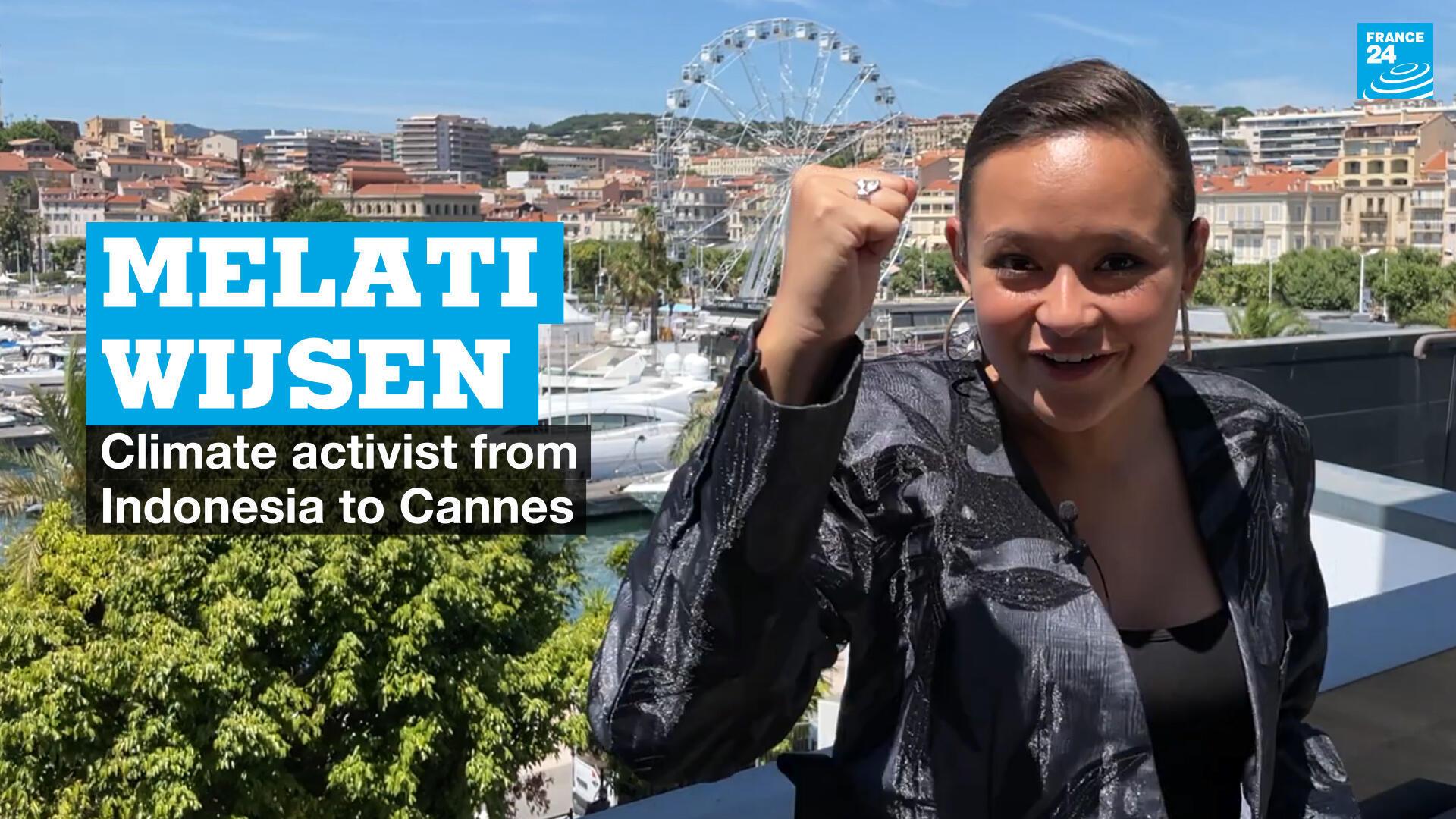 Melati Wijsen - Cannes
