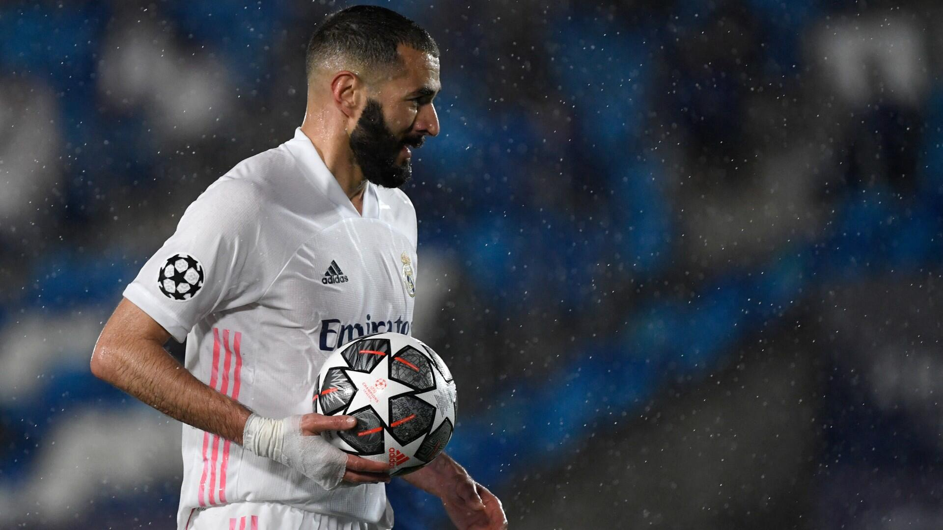 Football ligue champions real madrid chelsea benzema