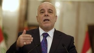 رئيس الوزراء العراقي حيد العبادي
