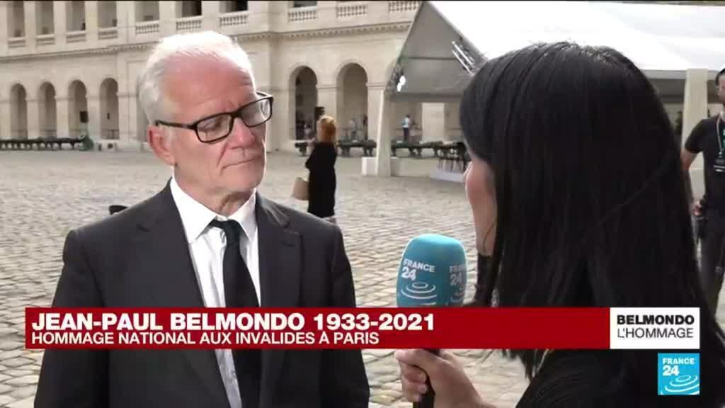 """2021-09-09 17:35 Hommage à Jean-Paul Belmondo : """"C'était un homme magnifique"""""""