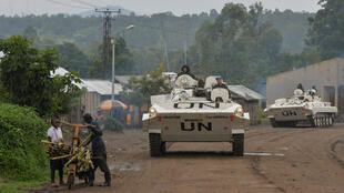 Soldiers from India serving in MONUSCO, the UN's peacekeeping mission in the Democratic Republic of Congo.