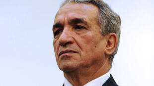 موسى بن حمادي أثناء توليه وزارة الاتصالات في 4 تشرين الثاني/نوفمبر 2012 بالعاصمة الجزائرية